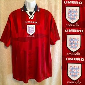 Umbro 1998 World Cup England National Away Jersey